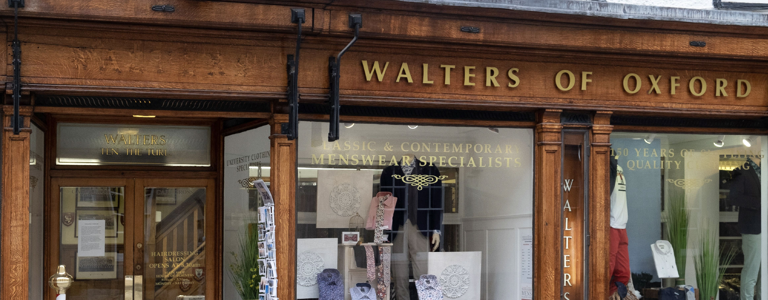 About Walters of Oxford