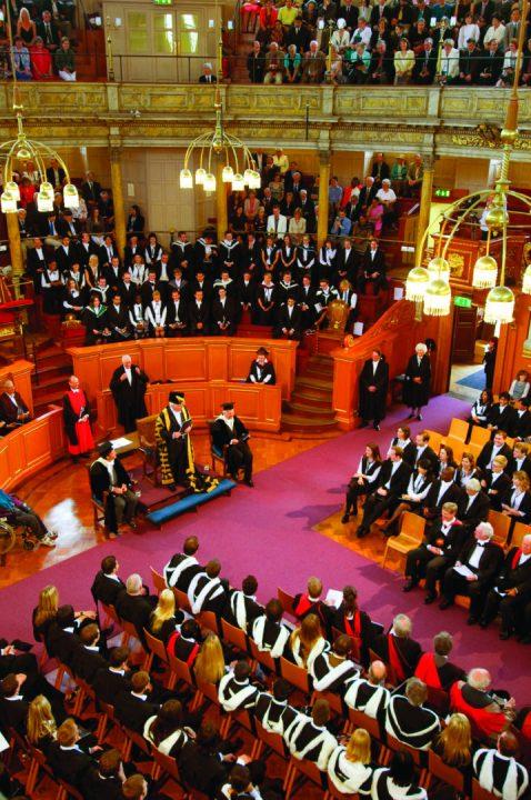 Oxford Graduation Ceremony